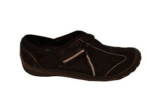 79-Privo-By-Clarks-Womens-Size-9-5M-Black-Fisherman-Flat-Casual-Comfort-Shoes