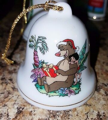 Disney Grolier Collectibles Porcelain Bell The Jungle Book ...