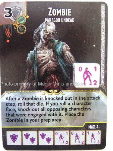 Battle for Faerun ZOMBIE Paragon Undead #120 rare D/&D Dice Masters Dungeons