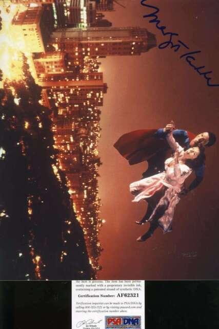 Margot Kidder Superman Psa Dna Coa Hand Signed 8x10 Photo Autograph