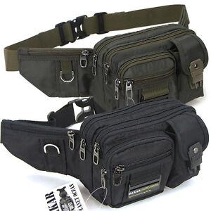 New-Black-Green-Waist-Fanny-Pack-Bum-Belt-Bag-Pouch-Travel-Hip-Purse-Mens-Women