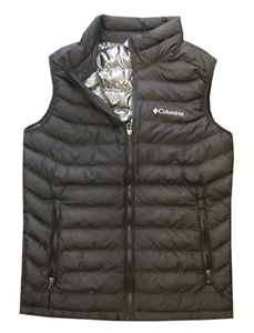 Columbia Mens White Out Omni-Heat Puffer Vest