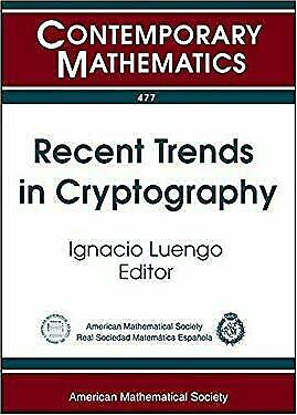 Recent Trends in Cryptography by Luengo, Ignacio-ExLibrary