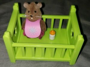 Lil-Woodzeez-Babeez-Crib-Animal-amp-Bottle-Gigi-Beaver