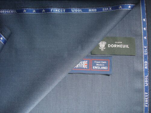 """DORMEUIL """"Wool /& Silk"""" LUXURY JACKETING//SUITING FABRIC MADE IN ENGLAND 2.5 m"""