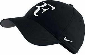 cómodo Se convierte en ellos  Nuevos Nike Rf Roger Federer Gorra Negra / Tenis Dri Fit 371202-010 | eBay