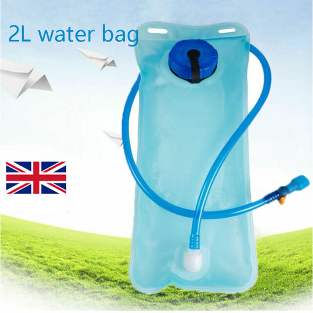 2L Army green Water Bladder Backpack Hydration System Camel bak Pack Bag  Hiking