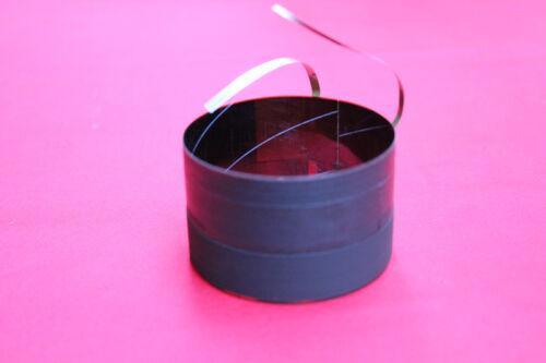 1 pcs ID 62.8mm Flat aluminum wire 8 ohm woofer Bass speaker voice coil for EV