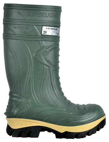 Cofra TERMICO Safety verde Wellington COMPOSITO DITO PIEDE TAPPI intersuola