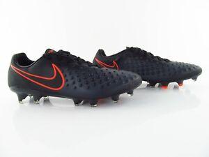 newest 79231 5c860 Das Bild wird geladen Nike-Magista-Opus-II-FG-Schwarz-Black-Fussballschuhe-