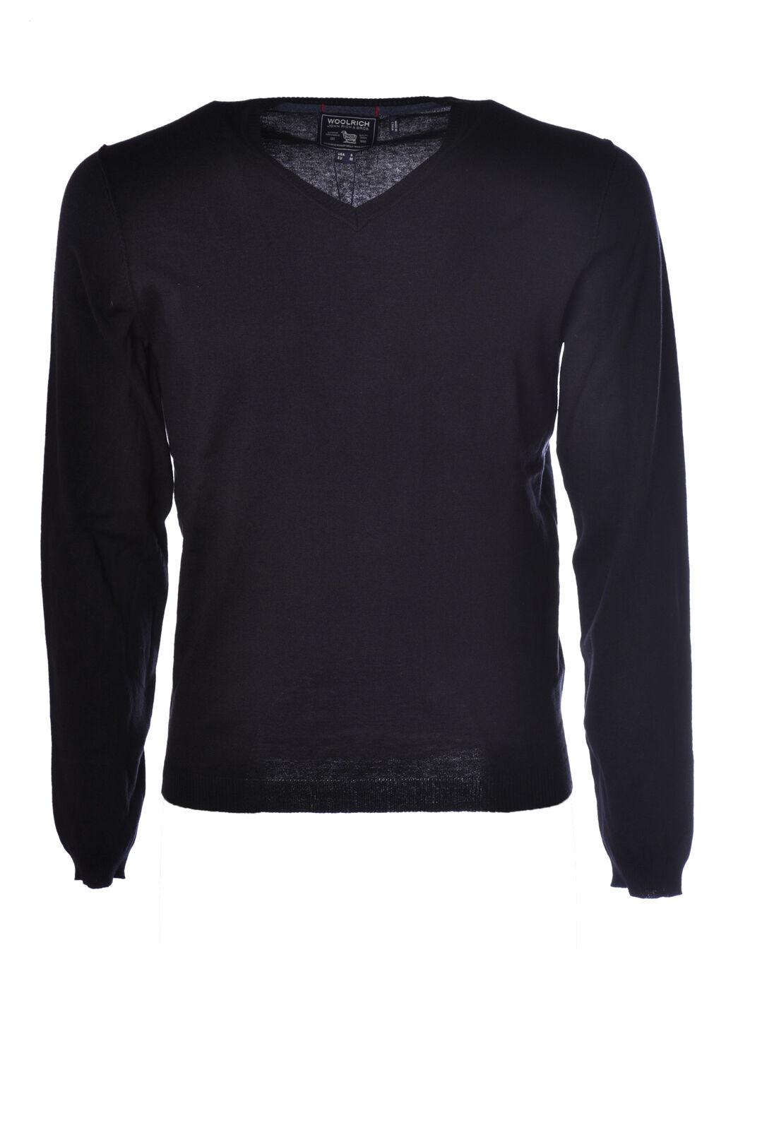Woolrich  -  Sweaters - Male - Blau - 1977126N173910