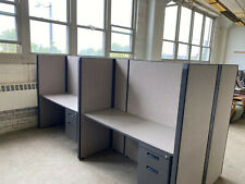 Pod Of 4 Cubiclespartitions By Herman Miller 5ftx2ftx62h
