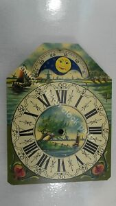 DUTCH-CLOCK-SMALL-FRIESIAN-TAIL-OR-SCHIPPERTJE-HANDPAINTED-REPLACEMENT-DIAL-4