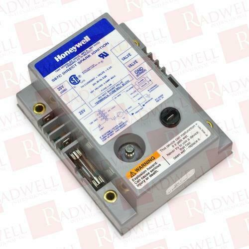 Honeywell S87C 1030 direct spark ignition module 25V 21 sec lockout