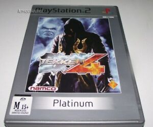 Tekken-4-PS2-Platinum-PAL-No-Manual