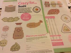 Kawaii-sushi-Mini-motifs-cross-stitch-pattern-chart-only-854