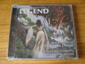 CD Album Tangerine Dream  Legend  Extended Remastered Brandon Verrett Sealed - Berkshire, England, United Kingdom - CD Album Tangerine Dream  Legend  Extended Remastered Brandon Verrett Sealed - Berkshire, England, United Kingdom