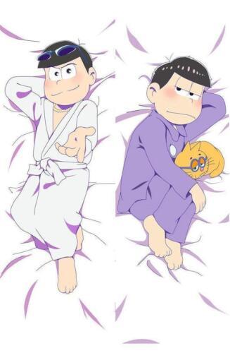Japan Anime Dakimakura Mr.Osomatsu San Karamatsu Hugging Body Pillow Case Cover