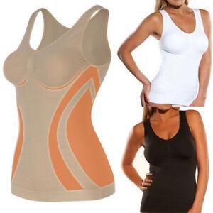 Mens Premium Workout Training Tank Top Shapewear Slimming Body Shaper Sauna Vest with Zipper