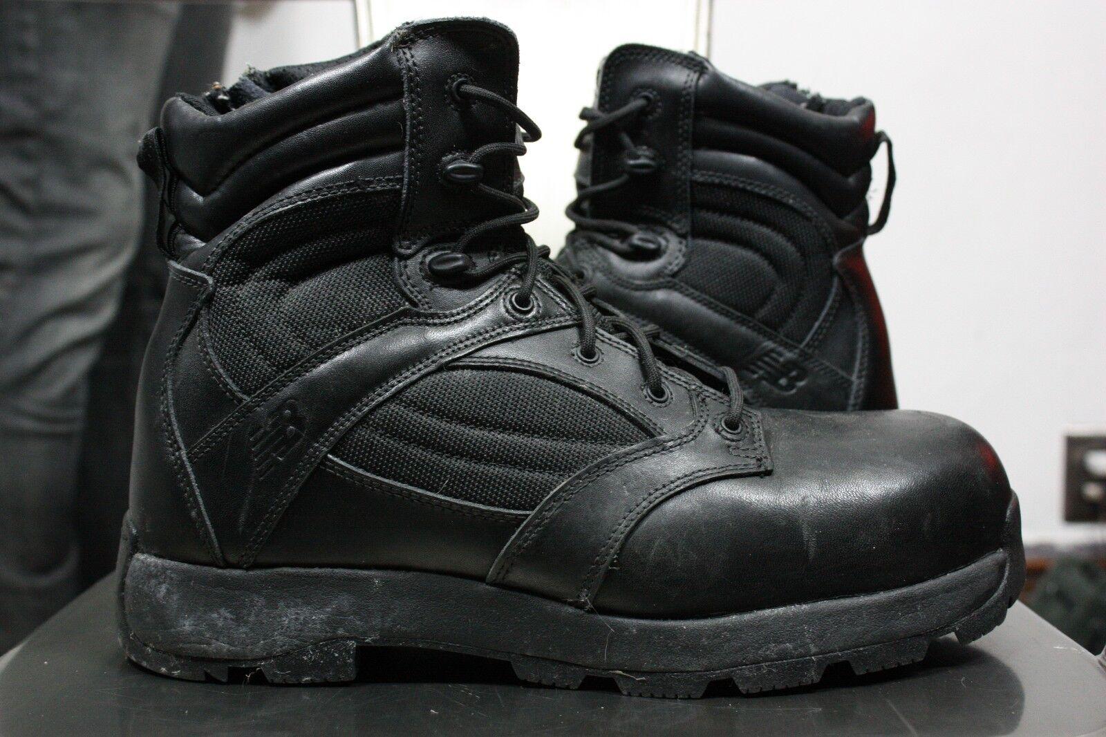 New Balance OTB boots 11.5 971 leather tactial combat military steel toe black