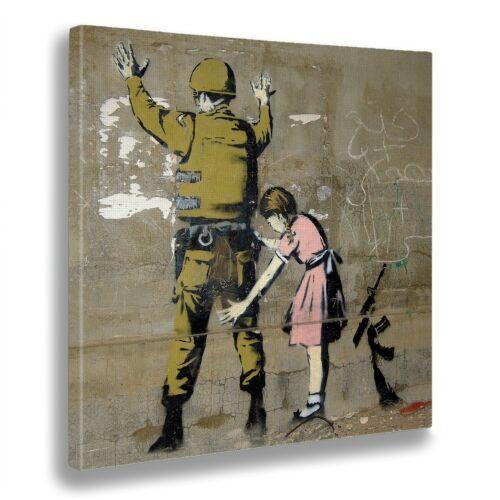 Bild Banksy Mädchen Perquisisce Soldat Druck Fine Artikel – Bereit Zum