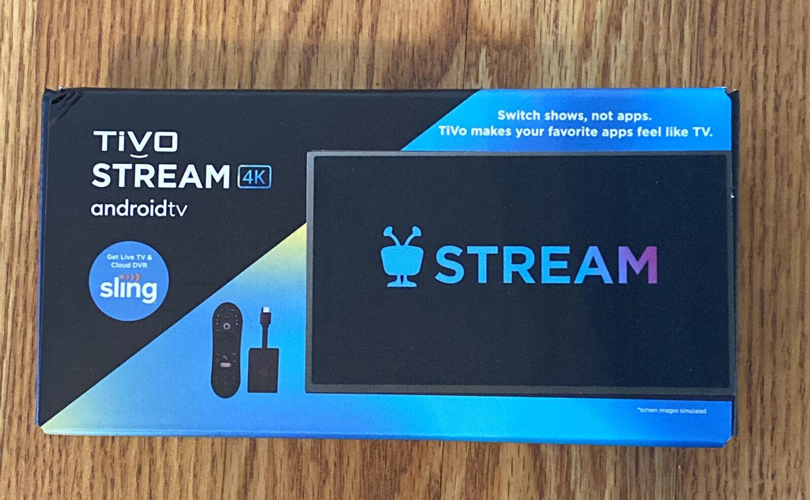 TiVo Stream 4K Android TV Media Player Brand New android brand media new player stream tivo