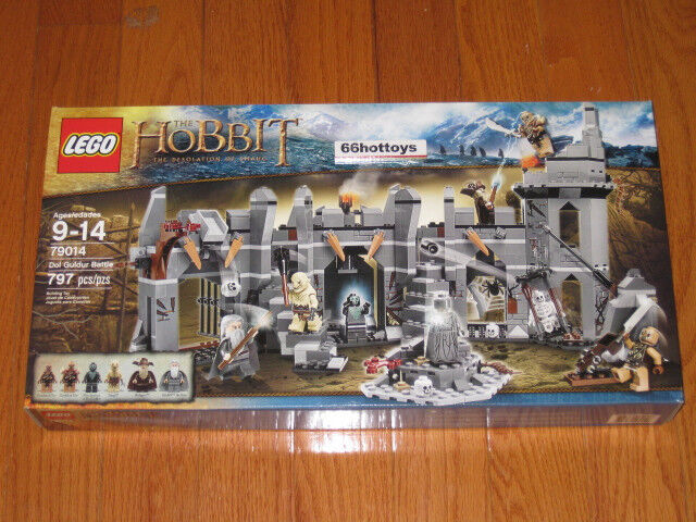 LEGO 79014 The Hobbit Dol Guldur Battle Lego 79014 NEW