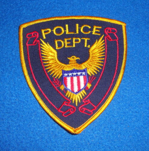 Police Department Eagle Patch New Old Stock