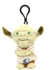 "STAR WARS YODA 4"" TALKING PLUSH WITH CLIP NEW GREAT GIFT"