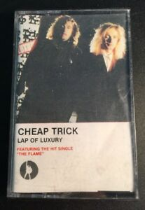 CHEAP-TRICK-039-LAP-OF-LUXURY-039-Cassette-Tape-Album