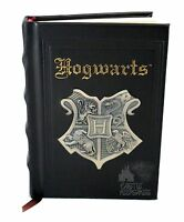 Wizarding World Of Harry Potter Deluxe Hogwarts Metal Crest Journal Diary Book