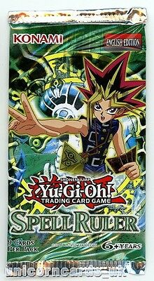 YuGiOh! Spell Ruler New and Sealed YuGiOh Booster Pack