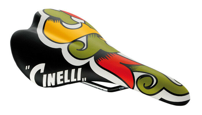 Cinelli SCATTO Cycling Bicycle Saddle Bike Seat ARALDO CREST Graphics