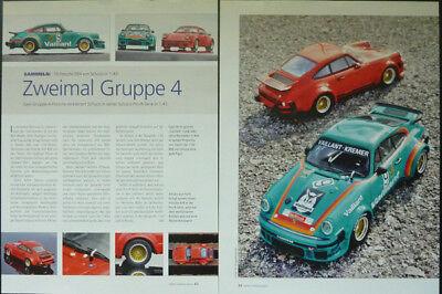 ' 76 Porsche 934 In 1-43 Di Schuco... Un Modello Relazione #2012-mostra Il Titolo Originale