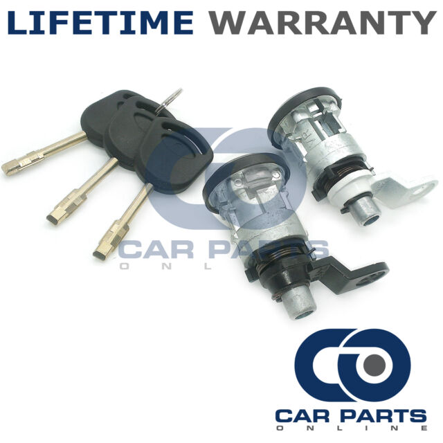 FORD COMPLETE DOOR LOCK SET FRONT RIGHT-LEFT NEW PARTS