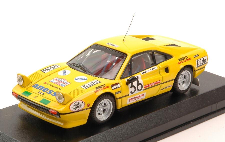 envío rápido en todo el mundo Ferrari 308 GTB  36 rally Autodromo Autodromo Autodromo monza 1983 facetti artioli 1 43 Model  la mejor selección de