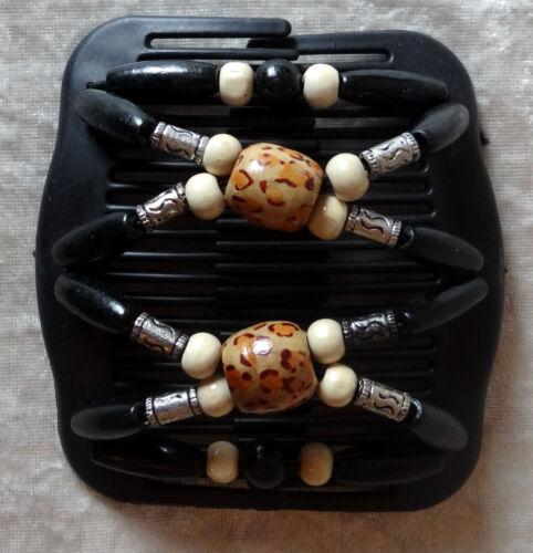 Trend African Hairclip Haarklammer Haarspange Haarkamm-Butterfly-kamm-Neu