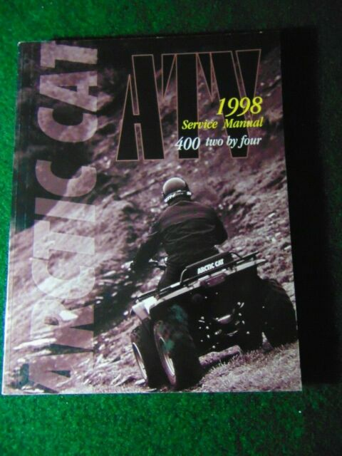 1998 Arctic Cat 400 2x4 Atv Service Repair Shop Manual