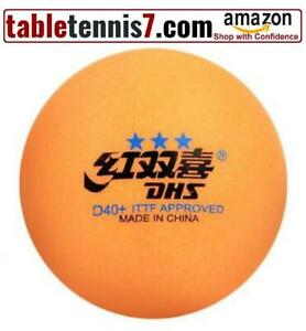 + 20 Balls  DHS D40+ ABS 3 Star Ping Pong Balls ITTF Approved Tournament Competition Table Tennis Balls  + Canada Preview