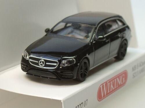 S213 schwarz 0227 07-1:87 Wiking Mercedes E-Klasse T-Modell AMG