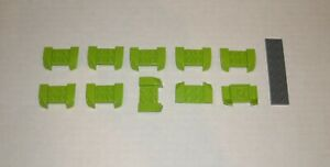 LEGO-NEW-2x4-Lime-Mudguard-with-Overhanging-Headlights-10x-6133545-Brick-44674
