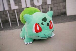 Pokemon-JUMBO-BULBASAUR-Plush-Toy-Cute-Tortoise-Stuffed-Pillow-Doll-Gift-20-039-039