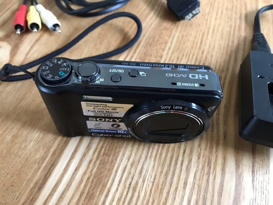 Sony, Cyber-shot dsc-hx5, 10,2 megapixels