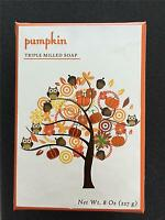 Cst Commonwealth Pumpkin Autumn Fall Bath Bar Scented Soap Large Size