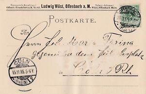 Postkarte-verschickt-von-Offenbach-nach-Koeln-aus-dem-Jahr-1895