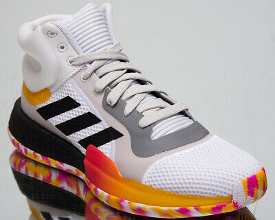adidas Marquee Boost Mens White Basketball Sneakers Shoes G26212 | eBay