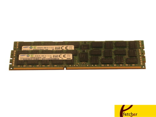 2X8GB DDR3 1333 PC3-10600 ECC REGISTERER 240-PIN 1333MHZ for Servers /& WS 16GB