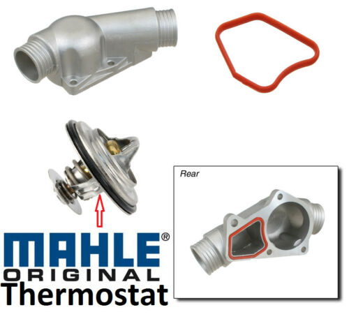 ALUMINUM  HOUSING ASSEMBLY KIT GASKETS 11531722531 BMW MAHLE THERMOSTAT