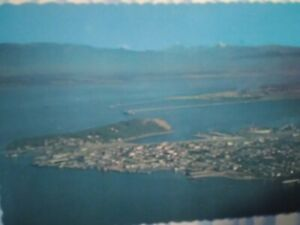 VINTAGE-PHOTO-POST-CARD-AERIAL-VIEW-FROM-ANACORTES-WASHINGTON