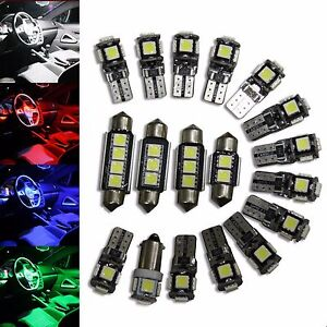 VW-PASSAT-3c-B6-Sedan-Variante-LED-SMD-Iluminacion-Interior-Kit-16-piezas